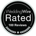 5 Star WeddingWire Rated 100+ Reviews