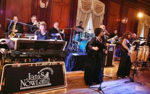 "Janis Nowlan Band Best Philadelphia Wedding Reception And Party Dance Band Rocks The Chesapeake To Cape Cod ""Janis Nowlan Band is amazing. They change their set list on the fly depending on what the guests are reacting to...far better than sticking to some stuffy set list"""