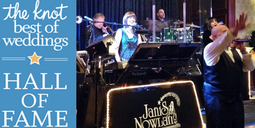 Janis Nowlan Band The Knot Best Of Weddings Hall Of Fame Inaugural Honoree