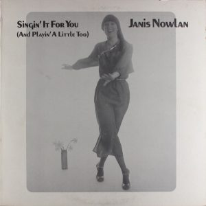Janis Nowlan Singin' It For You Album Cover Front